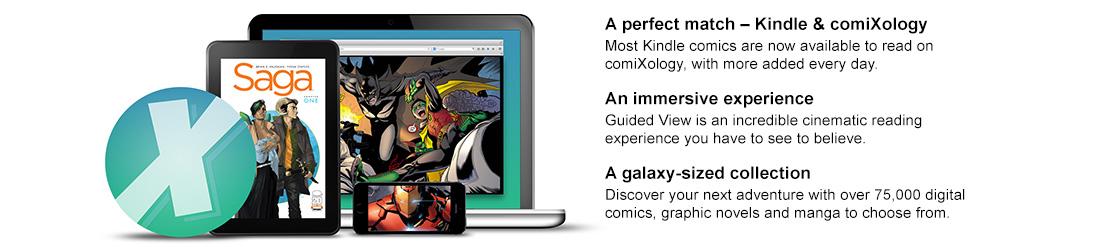 Free comiXology app - Read Digital Comics on your Phone