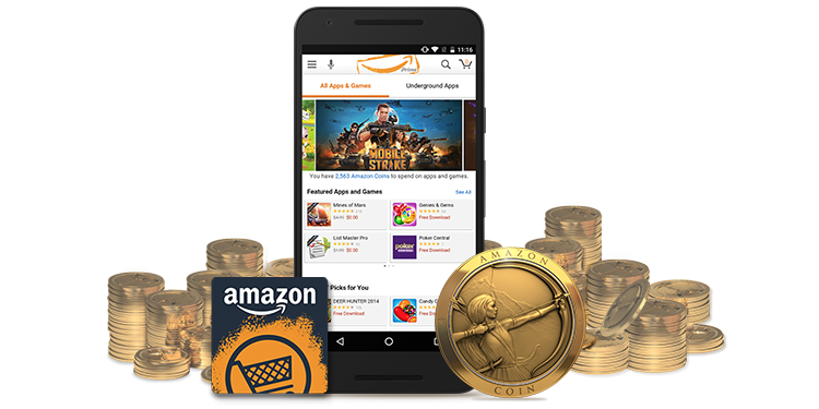 Where can I spend my Amazon Coins?