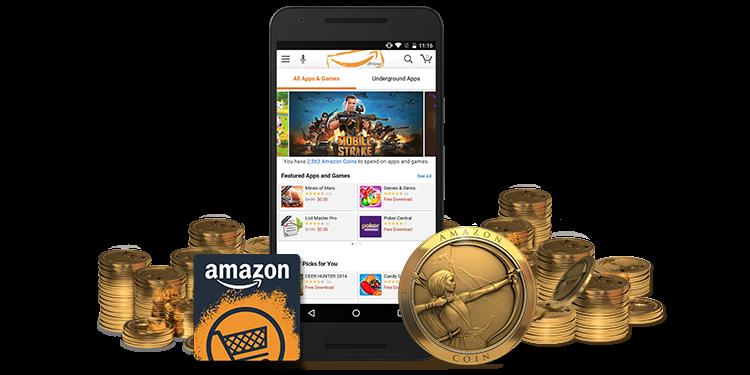 how do you buy amazon coins
