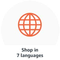 Shop in 7 different languages