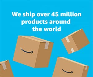 We ship 45 million products around the world