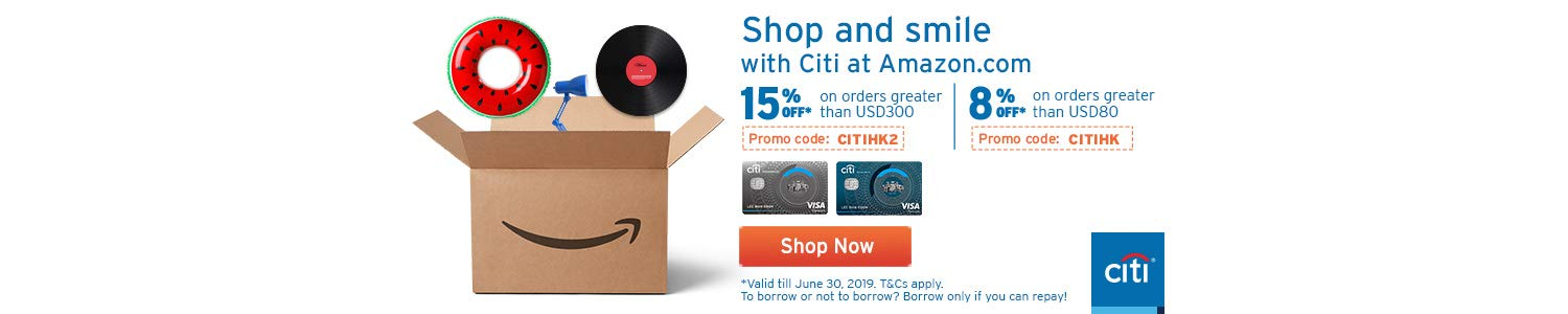 Saving using your Citi Card