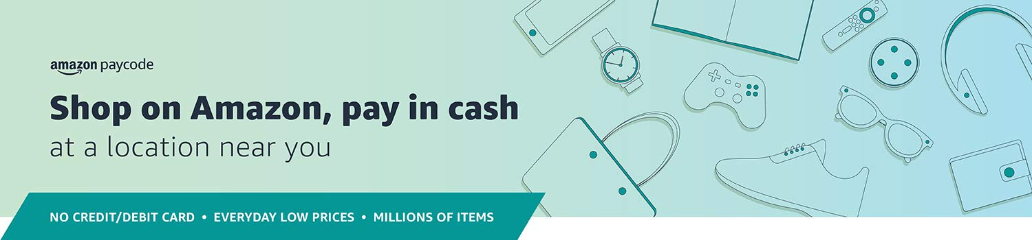 Shop on Amazon, pay in cash
