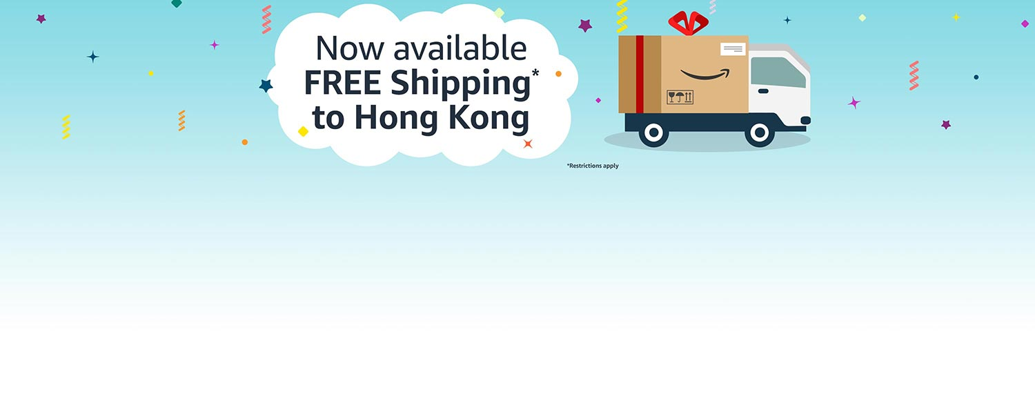 Free Shipping to Hong Kong