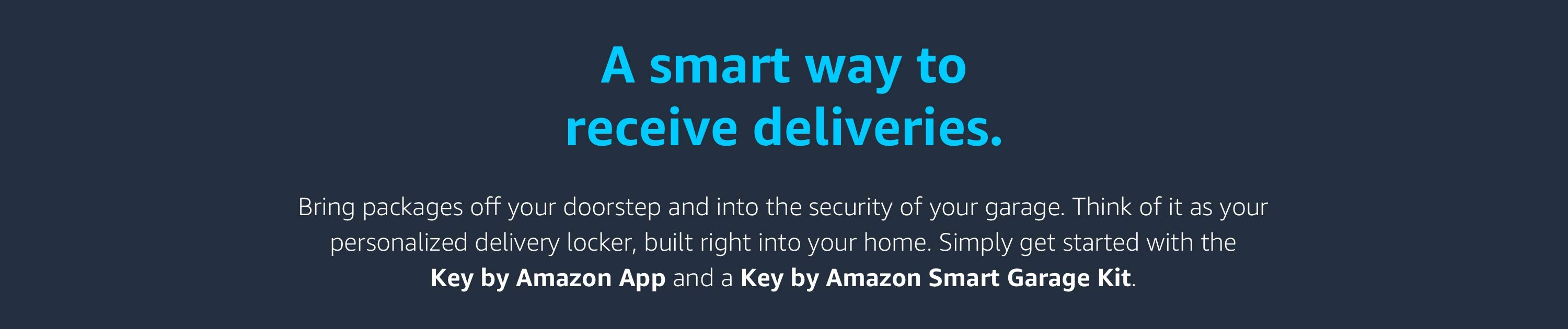 A smart way to receive deliveries