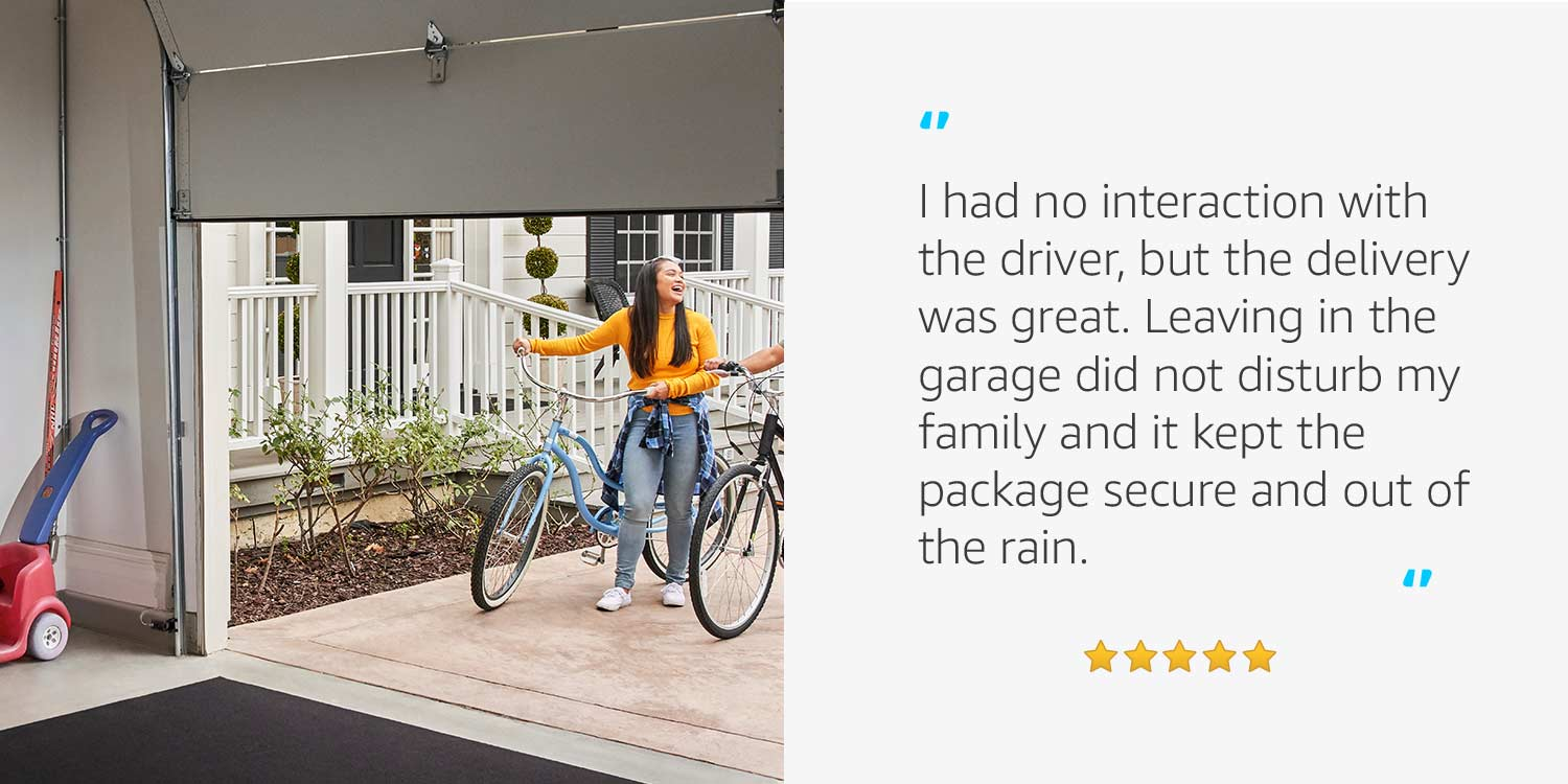 """I had no interaction with the driver, but the delivery was great. ..."""