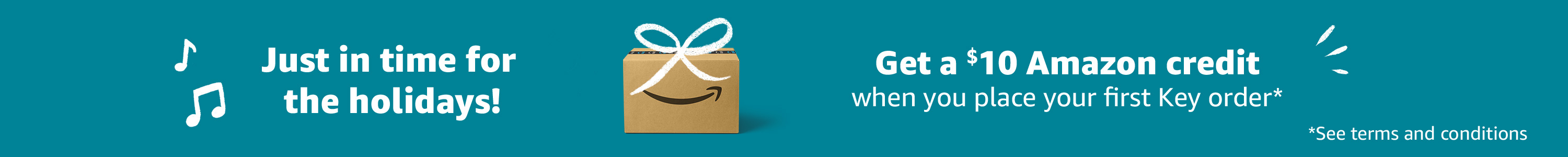 Get a $10 Amazon credit!