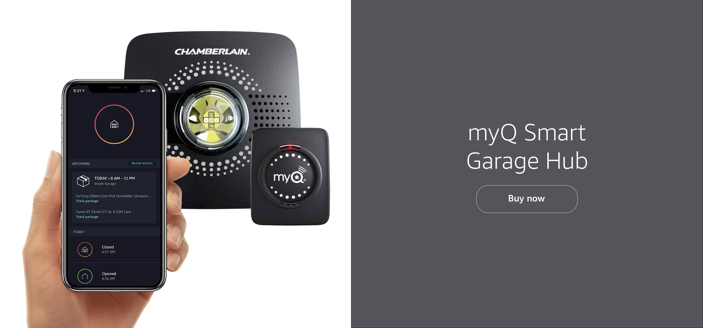 myQ Smart Garage Hub