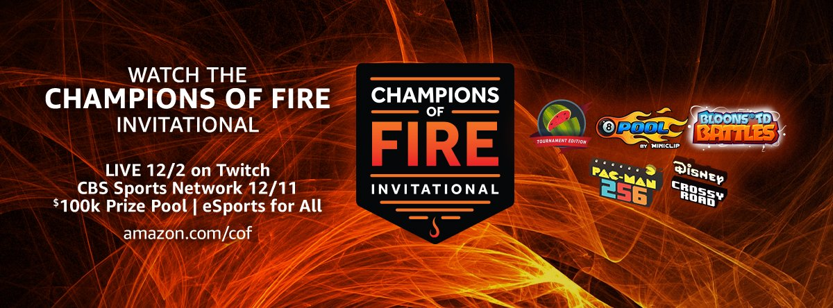 Amazon's Champions of Fire eSports Event Is Here: GET HYPED!