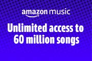 Unlimited access to 60 million songs