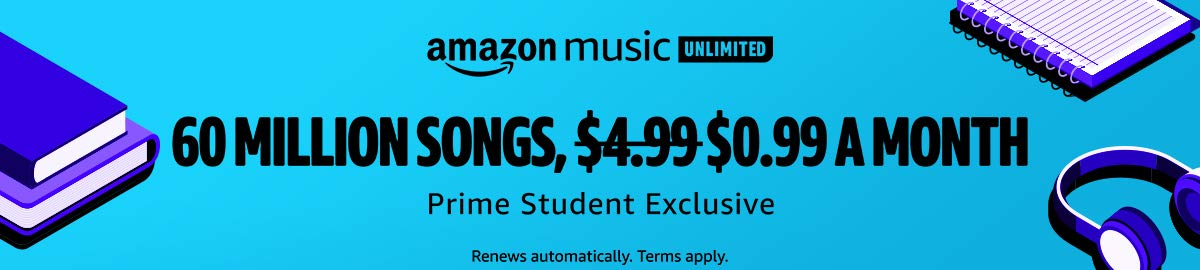 Amazon Music Unlimited $0.99 Offer