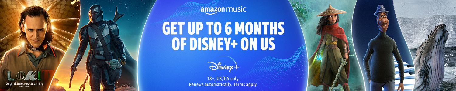 Get up to 6 months of Disney+ on us
