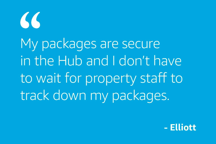 My packages are secure in the Hub...