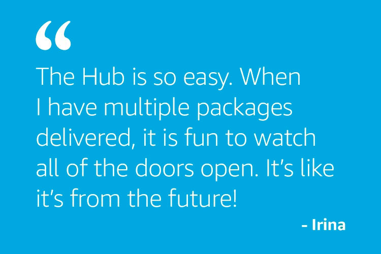 The Hub is so easy...