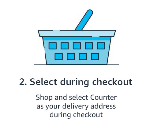 2. Select during checkout