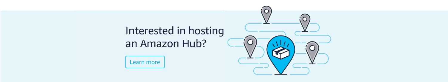 Interested in hosting an Amazon hub
