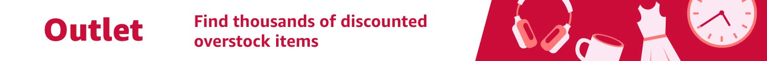 Outlet: Find thousands of discounted overstock items