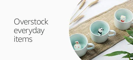 Overstock everyday items in Outlet