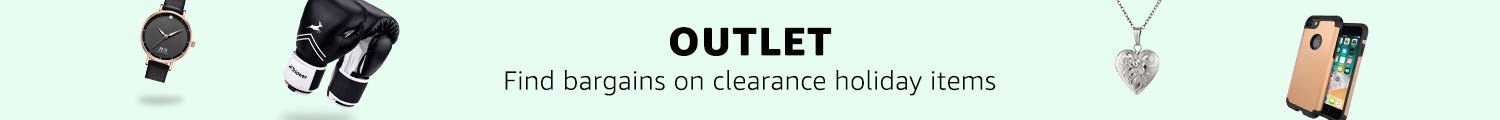 Outlet find bargains on clearance holiday items