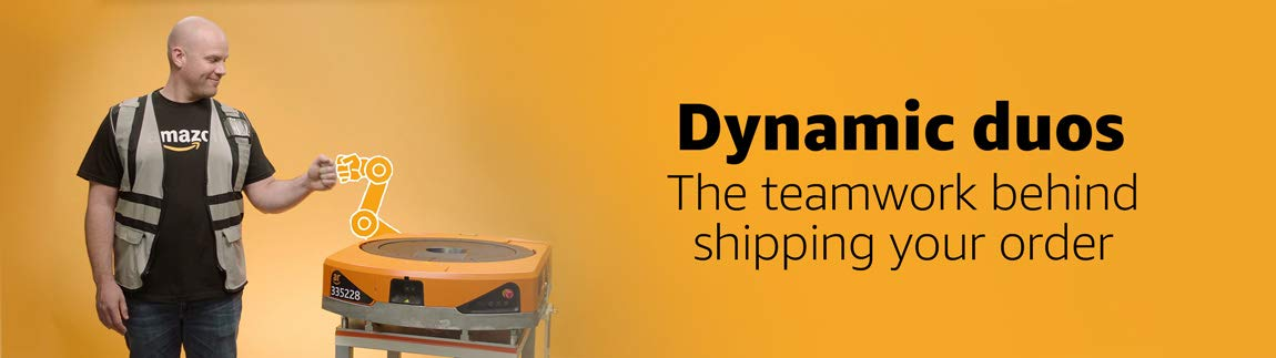 Dynamic duos. The teamwork behind shipping your order.