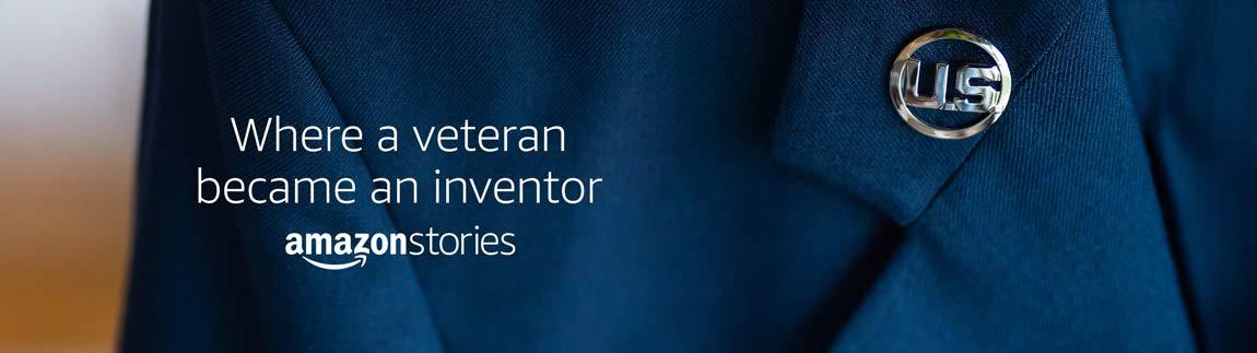 Where a veteran became an inventor. Amazon Stories.