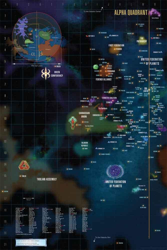 Star Trek Stellar Cartography: The Starfleet Reference Library: Larry