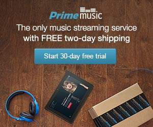 Join Amazon Prime Music - The Only Music Streaming Service with Free 2-day Shipping - 30-day Free T
