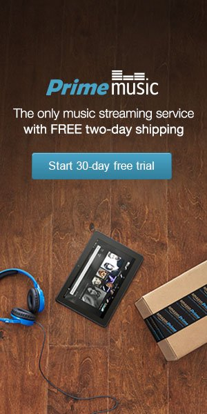 Prime Music -- 30 Day Free Trial