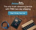 Prime Music Free Trials