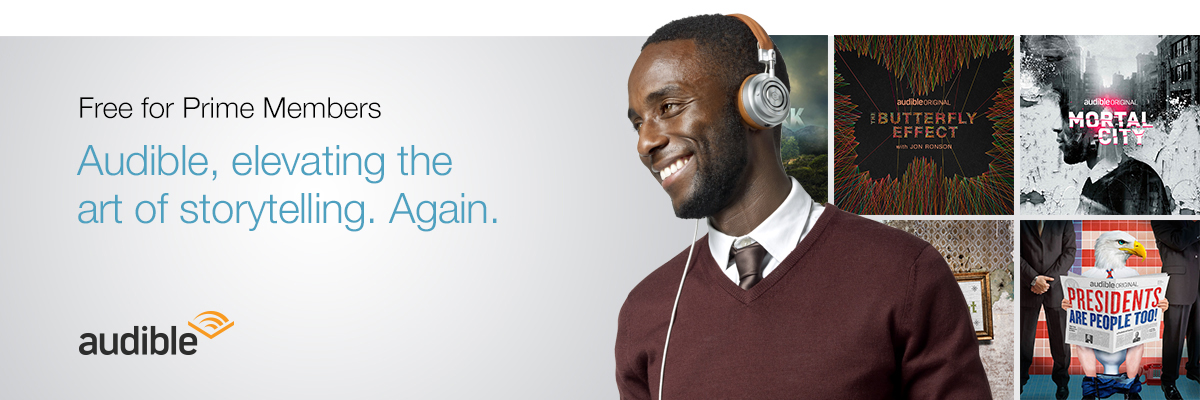 Prime members get Channels from Audible free!