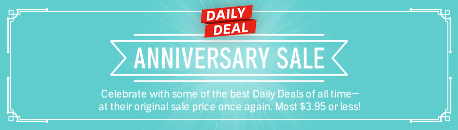 Daily Deal Anniversary Sale