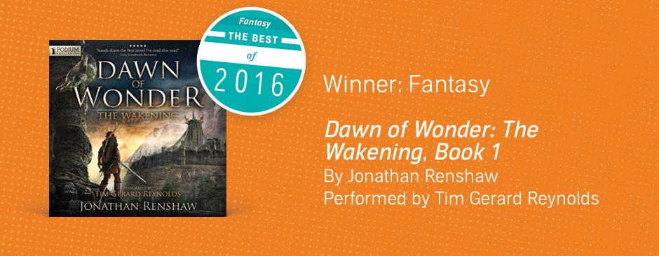 Fantasy: Dawn of Wonder by Jonathan Renshaw