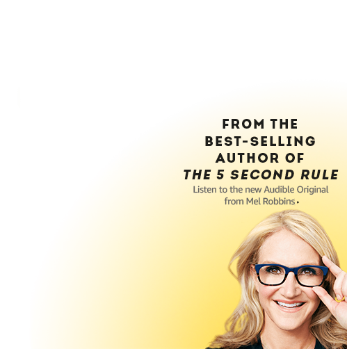 Listen to Mel Robbins' new audiobook, author of the best-selling
