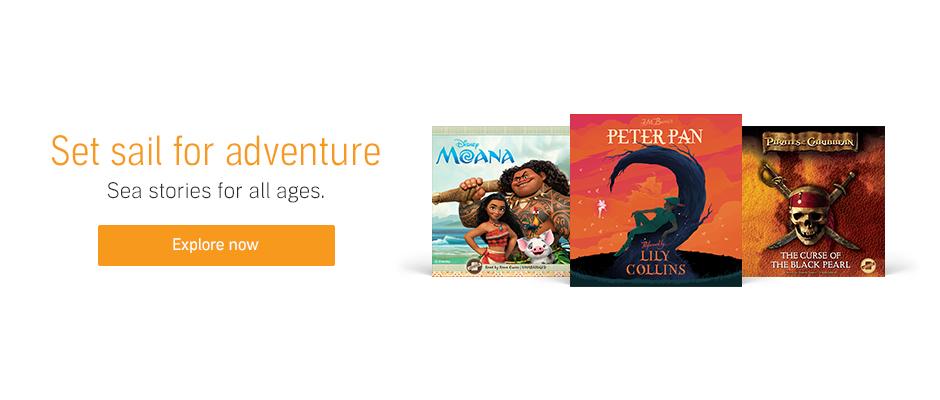 kids sea adventure audiobooks
