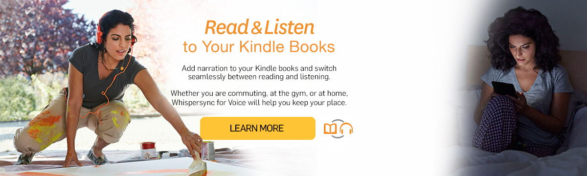 Amazon com: Whispersync for Voice: Kindle Store