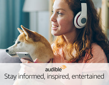 Audible - Stay inspired, informed, entertained