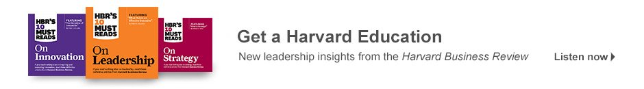 Harvard Business Review | Audiobooks