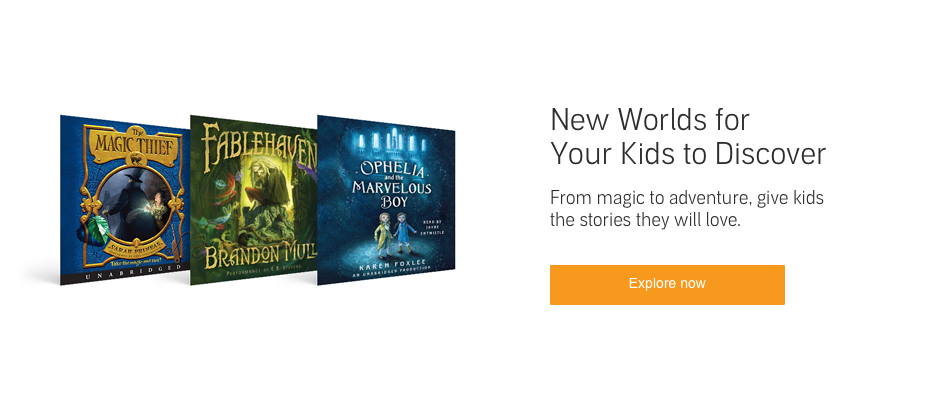 Kids' Fantasy Adventure Audiobooks