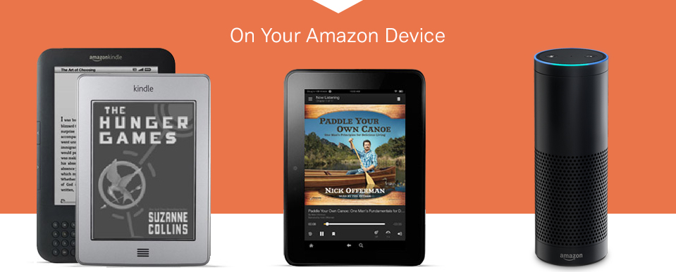 Audiobook on your Amazon device