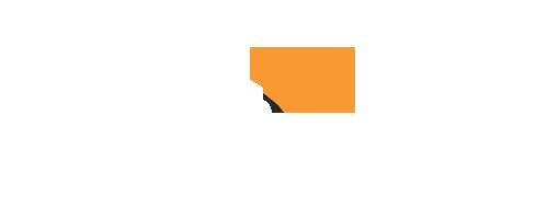 Audible logo - white
