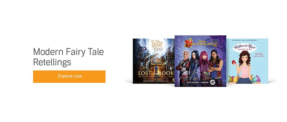 Fairy Tale Retellings audiobooks