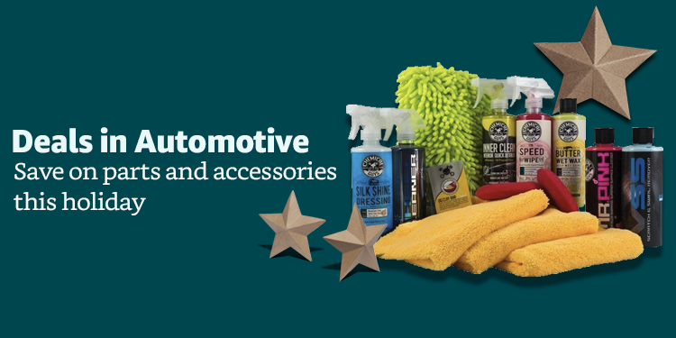 Holiday deals in automotive