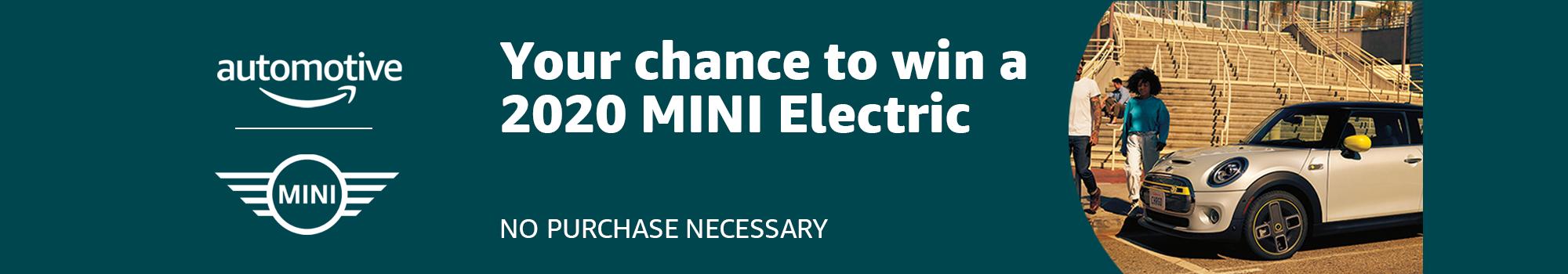 MINI Electric 2020 Giveaway