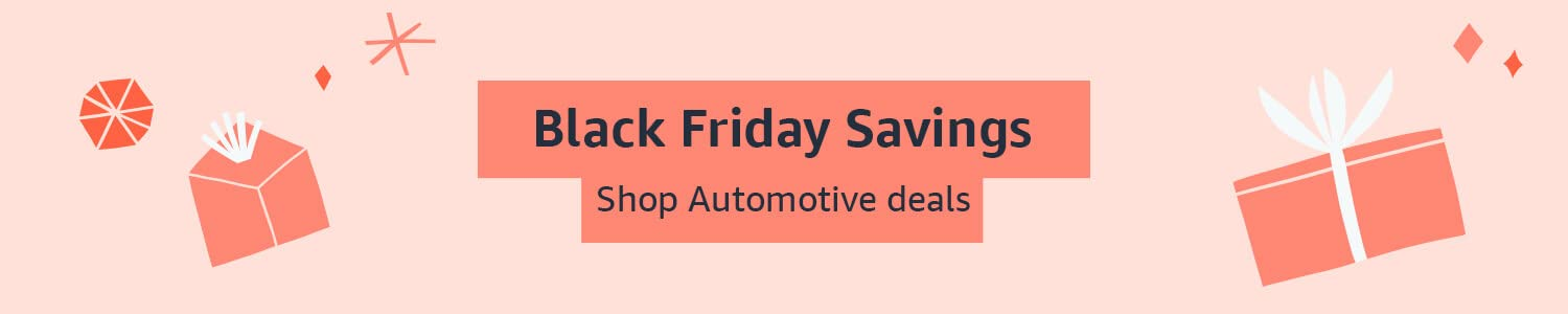 Black Friday Savings: Shop Automotive parts and accessories