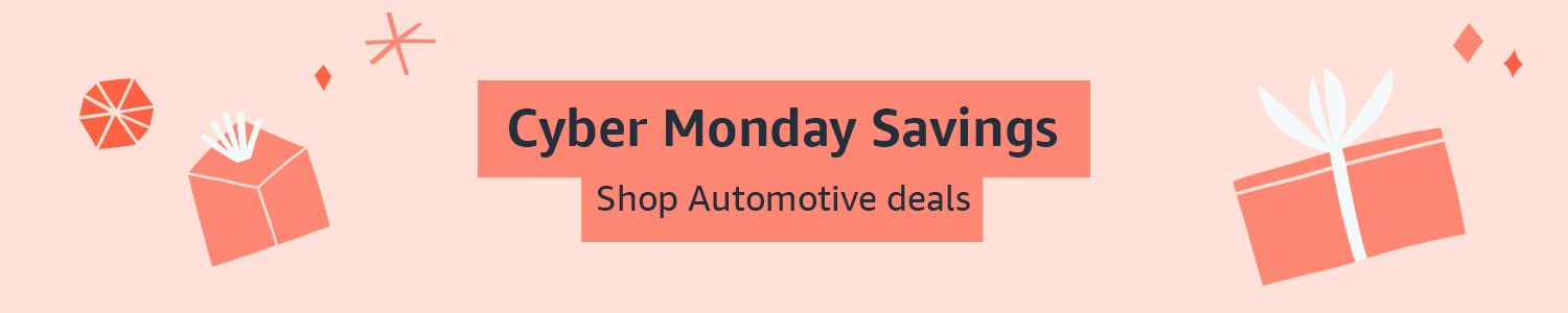 Cyber Monday Savings: Shop Automotive parts and accessories