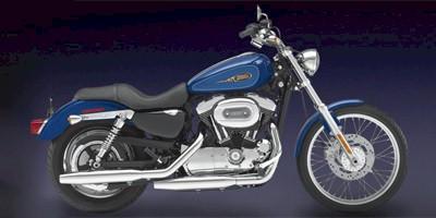 2009 harley davidson xl1200c sportster 1200 custom:main image