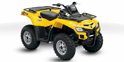 Can-Am Outlander 800 HO 4x4 EFI:Main Image