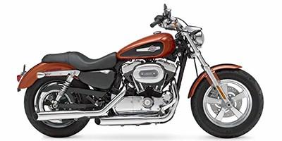 2011 Harley Davidson XL1200C Sportster 1200 Custom:Main Image