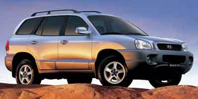 Marvelous 2004 Hyundai Santa Fe:Main Image