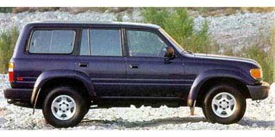 1997 Toyota Land Cruiser Parts and Accessories: Automotive: Amazon com
